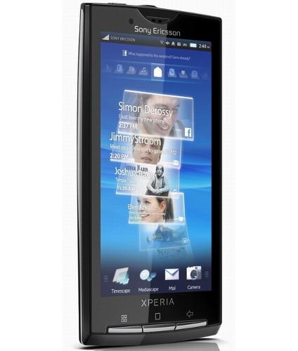 Sony Ericsson Xperia X10 не поддерживает мультитач