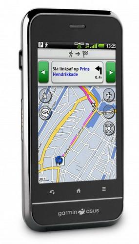 Новый Android смартфон от Garmin-Asus