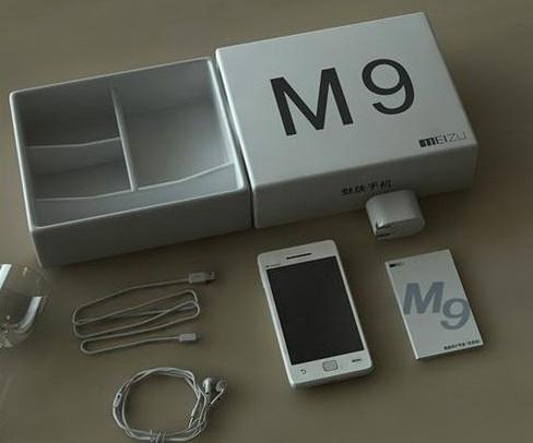 Новые фото Meizu M9