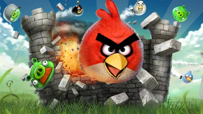 Рекламный ролик Angry Birds