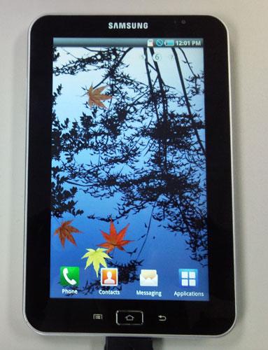 Samsung Galaxy Tab P1000 уже в 3 квартале