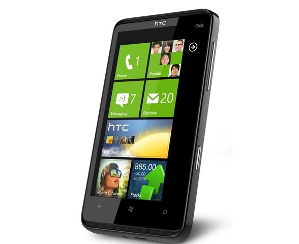 HTC HD7 флагманский смартфон на WP7