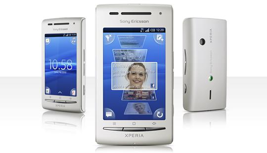 Sony Ericsson Xperia X8 на базе Android OS