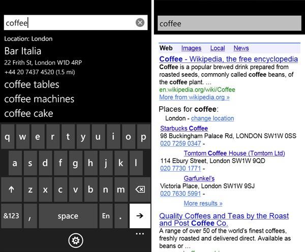 Приложение от Google для Windows Phone 7