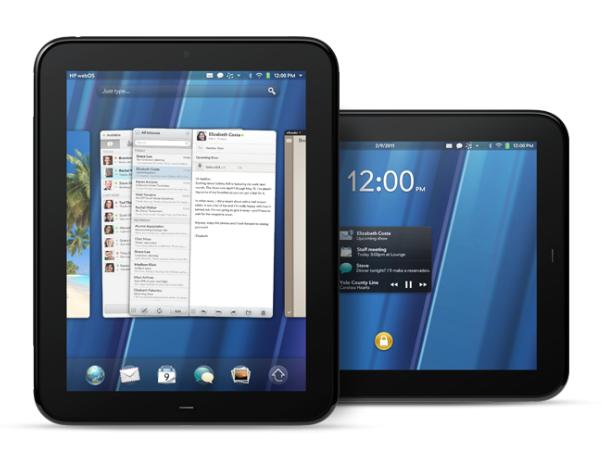 HP анонсировала свой планшетник TouchPad