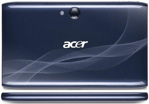 Acer выходит на рынок планшетников