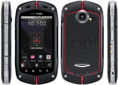 Casio представила собственный Android-смарфтон