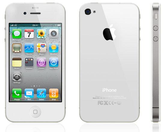 Белый iPhone 4 совсем скоро