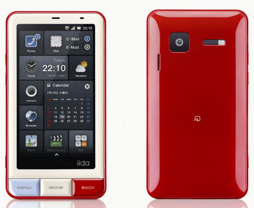 Оригинальный смартфон от KDDI