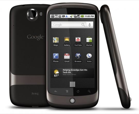 Android 2.3.4 выходит для Nexus One