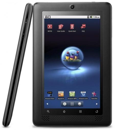 Viewsonic представил планшетник ViewBook 730