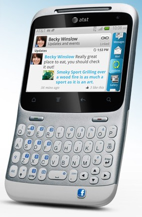 Смартфон + Facebook = HTC Status