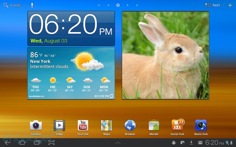 Новый TouchWiz UX для планшетов Samsung Galaxy Tab