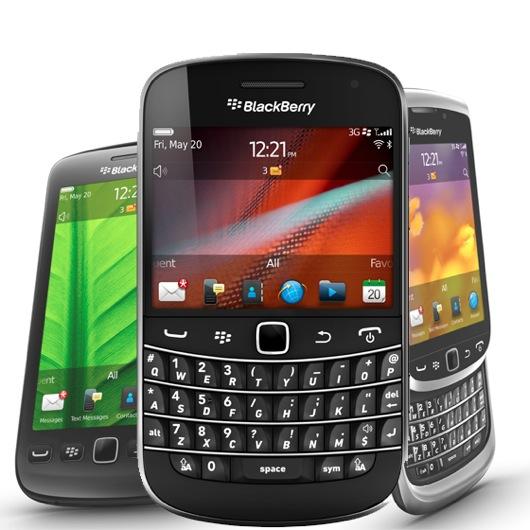 Новые смартфоны на BlackBerry OS 7