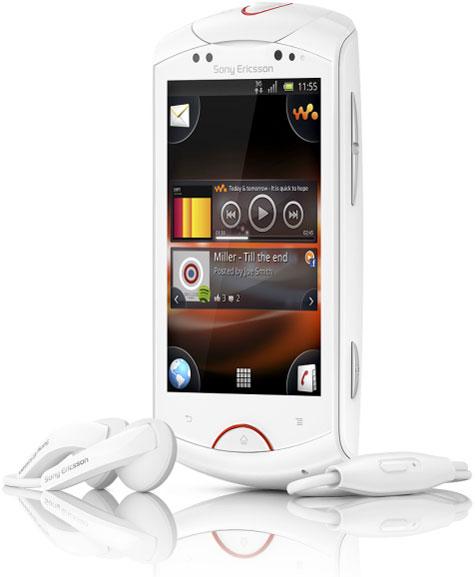 Музыкальный Android-смартфон от Sony Ericsson