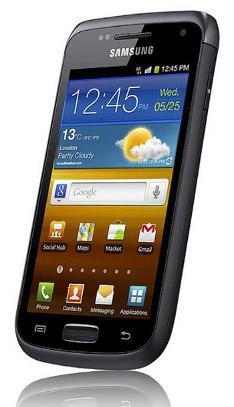 Samsung представила Android-смартфон Galaxy W