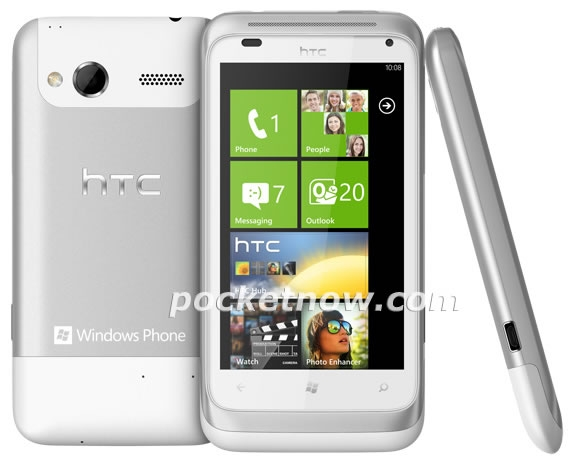 Появились официальные фотографии HTC Omega