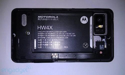 Появились фото нового Motorola Droid HD