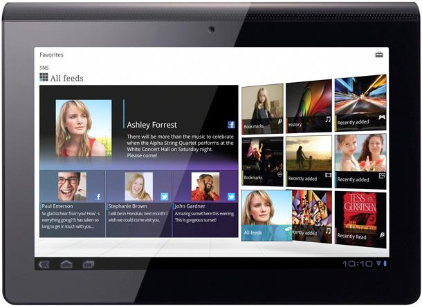 Sony поделилась информацией о Tablet P и Tablet S