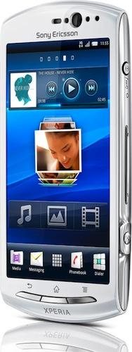 Sony Ericsson представила Xperia Neo V