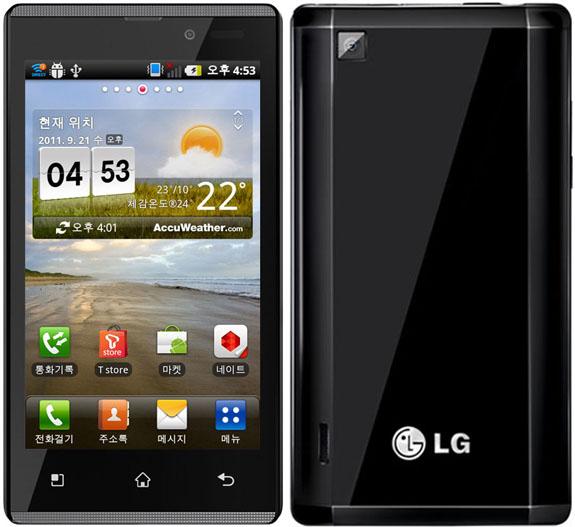 Официальные фото LG Optimus EX