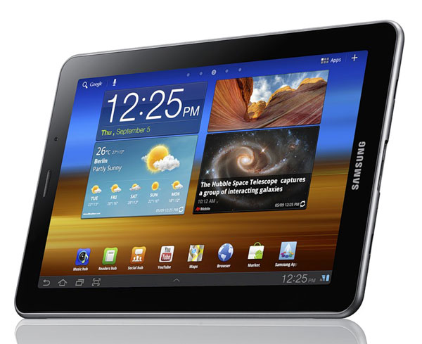 Samsung Galaxy Tab 7.7 получил экран Super AMOLED Plus