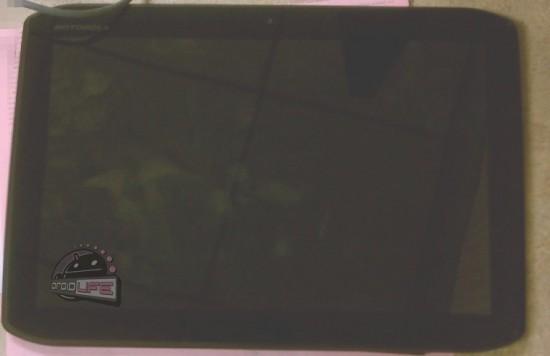 Утечка фотографий планшетника Motorola Xoom 2