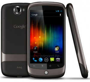 Google Nexus One под управлением Android Ice Cream Sandwich