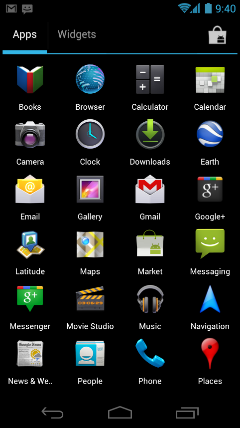 Android Ice Cream Sandwich и смартфон Galaxy Nexus