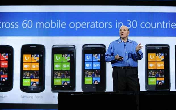 Стив Балмер критикует Android и хвалит Apple