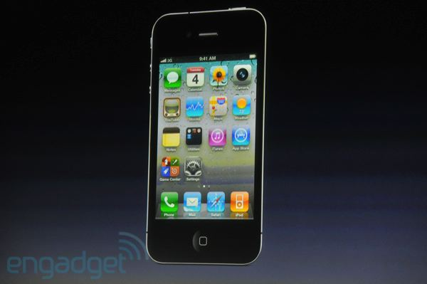 Фотографии и характеристики нового iPhone 4S с презентации Apple