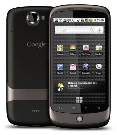 Google Nexus One не получит официального обновления до Android ICS