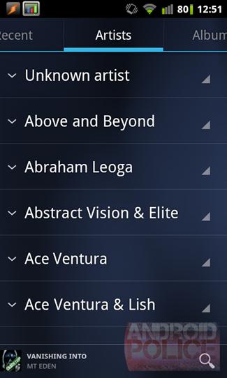 Утечки скриншотов приложений Music и Market из Ice Cream Sandwich