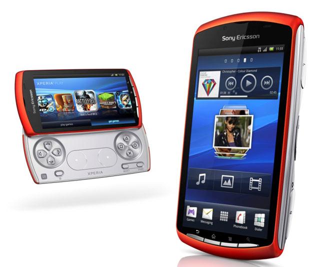 В России вышел оранжевый Sony Ericsson Xperia Play