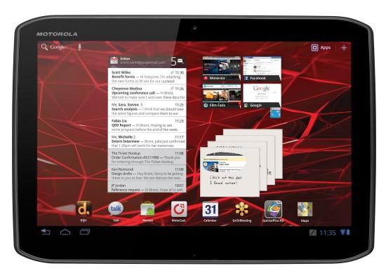 Motorola представила новые планшетники Xoom 2 и Xoom 2 Media Edition