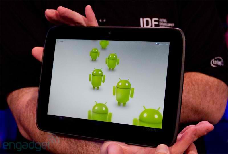 Мобильный телефон от Intel появится в 2012 году