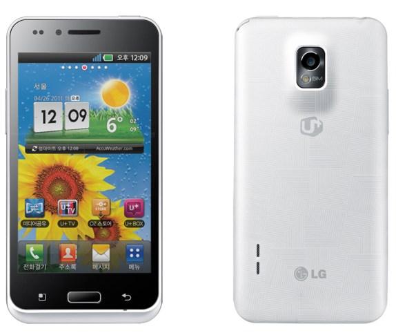 Предварительный список обновлений устройств LG до Android 4.0