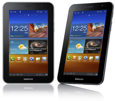 Начались продажи Samsung Galaxy Tab 7.0 Plus в России