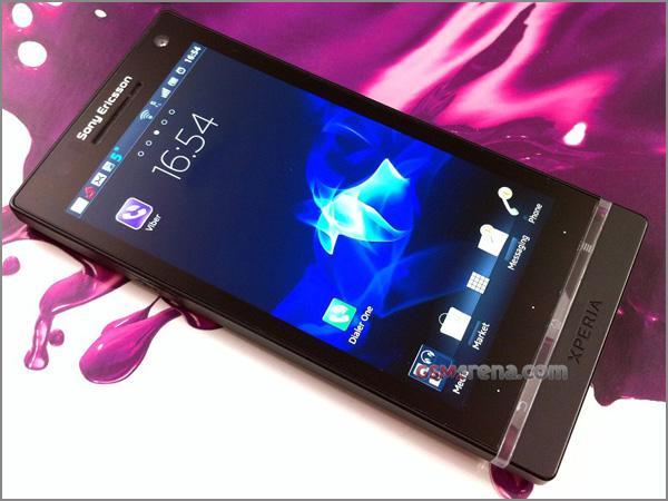 Характеристики и новые фото Sony Ericsson XPERIA Arc HD