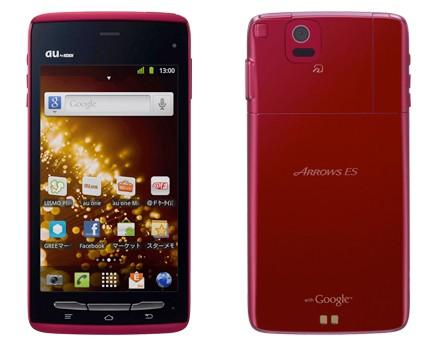 Fujitsu Arrows ES IS12F – новый сверхтонкий смартфон