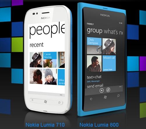 МТС начала продажи Lumia 710 и Lumia 800