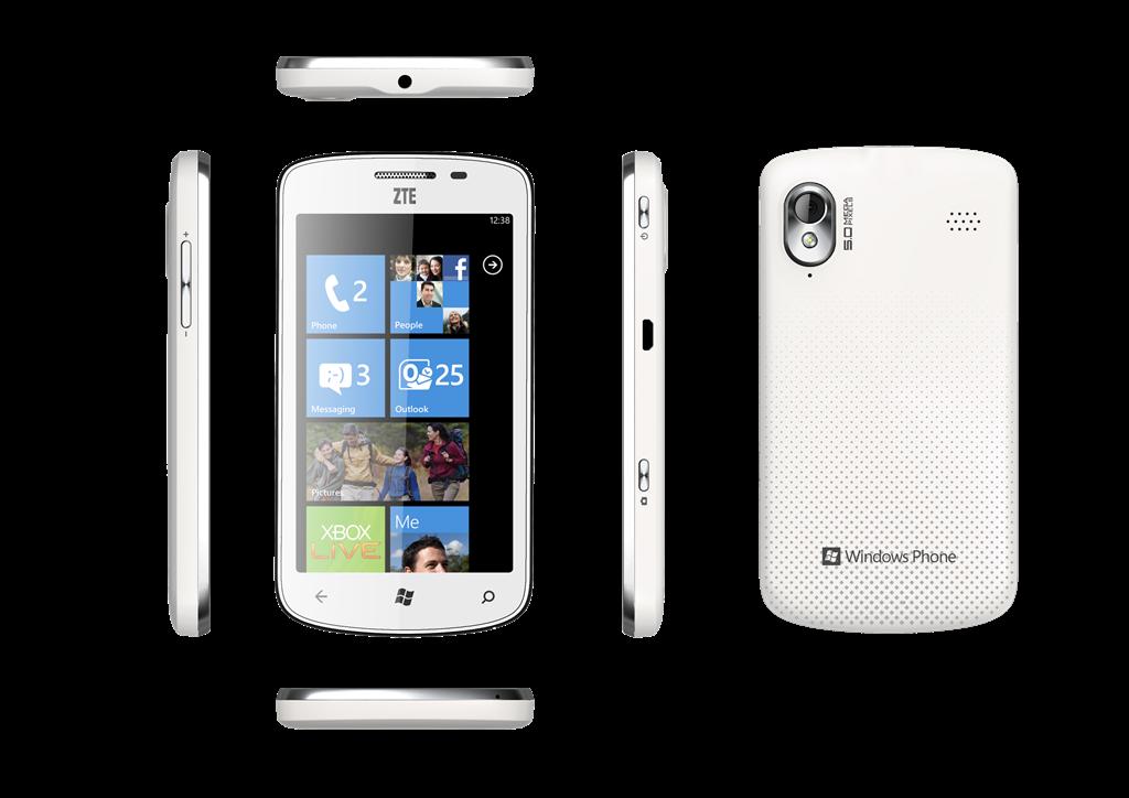Подробности о ZTE Tania на Windows Phone