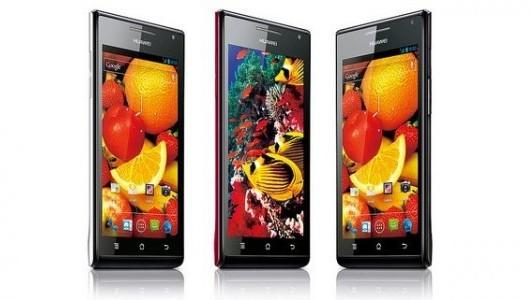 Анонс самого тонкого смартфона Huawei Ascend P1 S