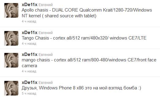 Очередные слухи о будущей Windows Phone 8