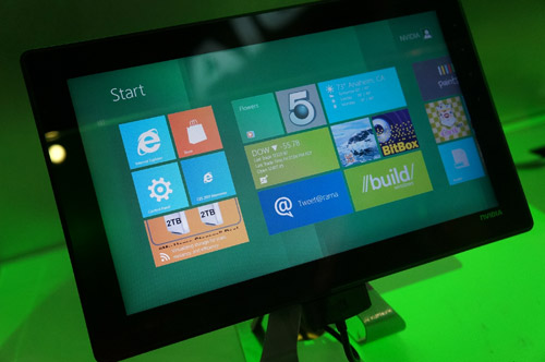 Запуск  массового производства планшетов на Windows 8