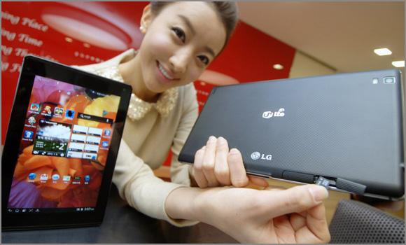 LG официально представила новый планшет Optimus Pad LTE