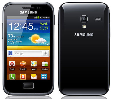 Официальный анонс смартфона Samsung Galaxy Ace Plus