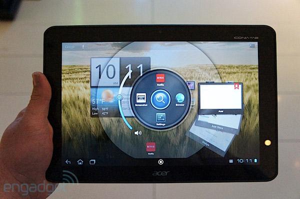 Новые характеристики и стоимость Acer Iconia Tab A200