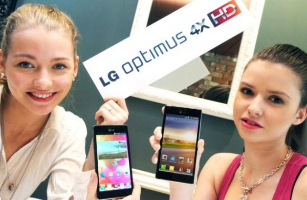 Анонс смартфона  LG Optimus 4X HD