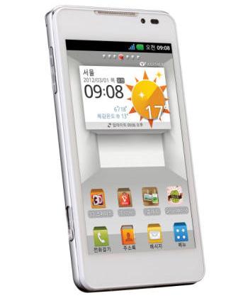 Обновлённая информация о спецификации нового LG Optimus 3D 2